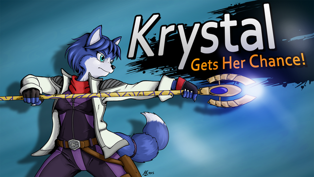 Krystal for Smash by Atticus-Kotch