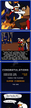Super Cyberoid #1-3: Thanks For Playing! by MigBird