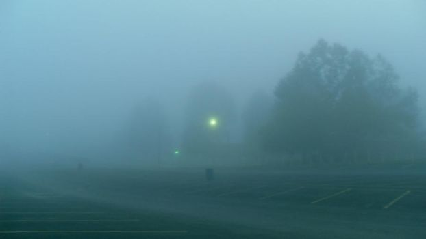 Fog Parking Lot Stock II by CreepShowStock