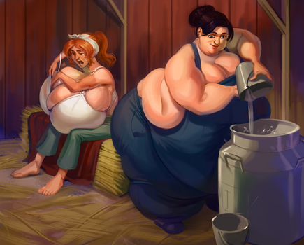 The Milk Mongers by 0pik-0ort