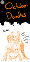 October Doodles #4 by TheEnglishGent