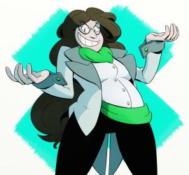 Dr. Kate Zinc by ZiBaricon