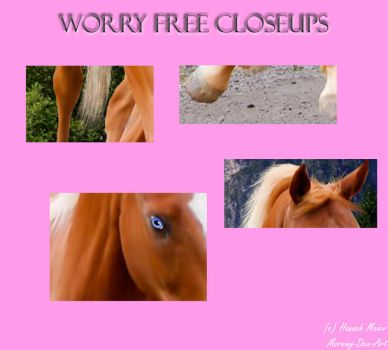 I'm Worry Free CLOSEUPS by morning-dew-art