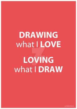 Drawing what I love by lille-cp