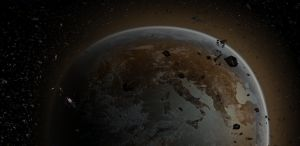 This planet is garbage by darth-biomech