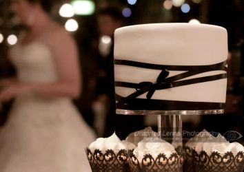Wedding Cake and the Bride by Distorted-Lenns
