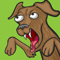 Tongued Dog by JLai