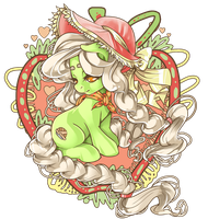 Granny Smith by raspbearyart