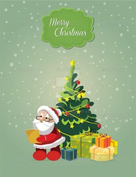 Santa Claus with Gifts by bd670816