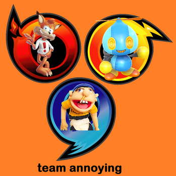 my sonic heroes Team Annoying by goodstar64