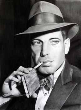 Young Humphrey Bogart by donchild