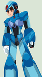 Mega Man X Future Is in my hands by Sobies518PL