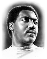 Otis Redding by gregchapin