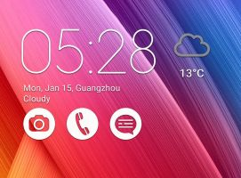 Asus Zenfone 2 Widget V1 for xwidget by Jimking