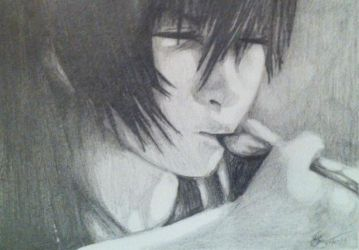 Young Noctis Sketch 2 by Bill-James