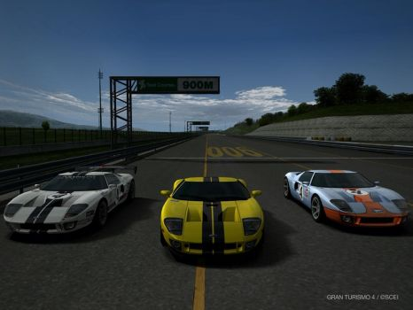 Ford GT by GamePonySly