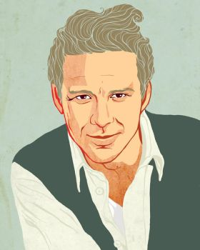 Mickey Rourke by Sudjino