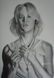 Mackenzie Davis as Cameron Howe. by Julia-R-Ch