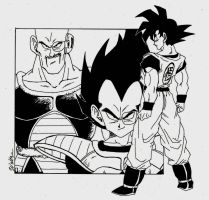 The Day of the Saiyans... by WdMtMdW