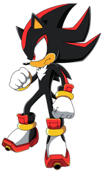 Shadow the Hedgehog by WaitoChan