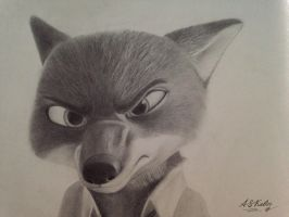 Angry Nick by AndrejSKalin