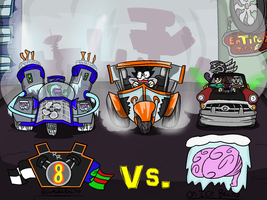 Richmond Racing Vs. On Ice Brainz by Nyanbonecrush