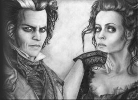 Sweeney Todd and Mrs Lovett by Melissa2000