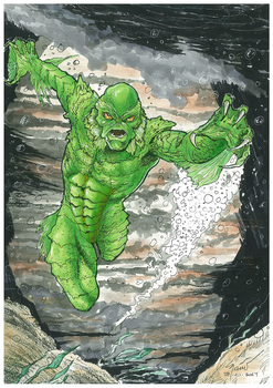 Creature of the Black Lagoon by marcel815