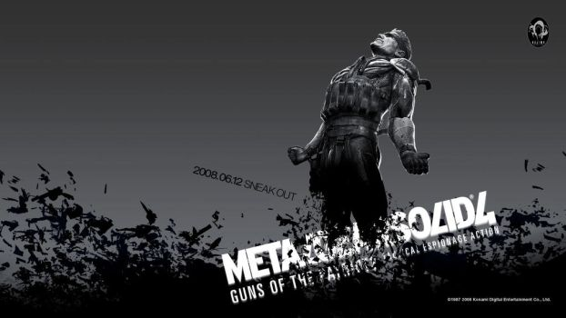 Metal Gear Solid 4 PS3 Wallpaper 1 by Silver87553