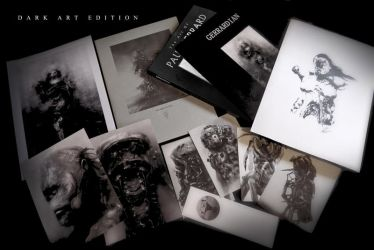 NEW DARK ARTBOOK : ON SALE NOW by Sallow