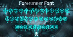 Forerunner Font by NickPolyarush