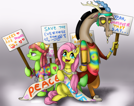 The Protest [REDRAW] by SpaceSheep-Art
