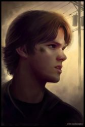 Young SamPortrait by Petite-Madame