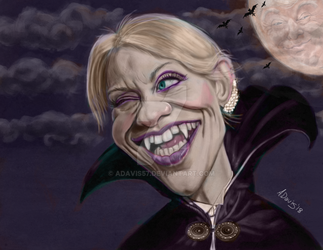 Countess Kellyanne re-vamped. by adavis57