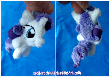 Rarity keychain by zuckerschnuti