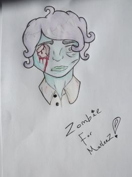 Zombie For Marlee by XMusicIsAllIAskForX