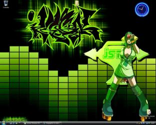 Jet set radio future desktop by Zaugriphon