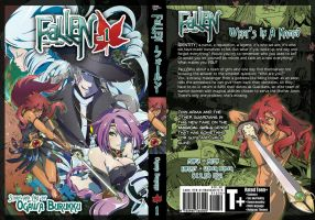 FaLLEN Volume 1 Dust Jacket Cover Artwork by OgawaBurukku