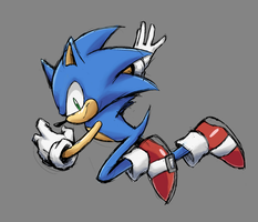 Sonic The Hedgehog by DemXUltra