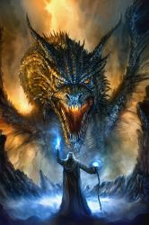 Theft/Plagiarism of my Dragon art. by chrisscalf