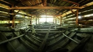 Old Church Boat by Pajunen