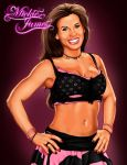 Mickie James by rkw0021