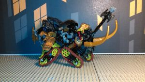 Rampage Makuta [Beetle mode] by sideshowOfMadness