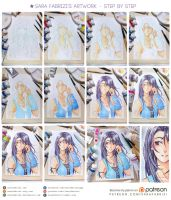 + Step by Step: Rinoa + by SaraFabrizi