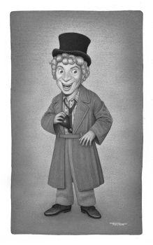 Harpo Marx by Renves