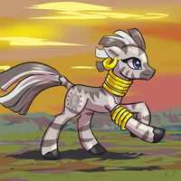 Speedpaint 17 - Zecora by KP-ShadowSquirrel