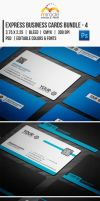 Express Business Cards Bundle - 4 by EgYpToS
