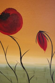 moring poppies 2 101508 by lilianagraham