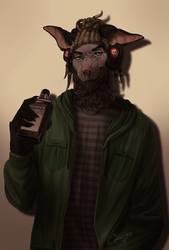 Commission for Goatbones by Caicyo