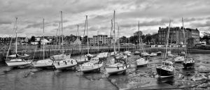 Boats in the HArbour by BusterBrownBB